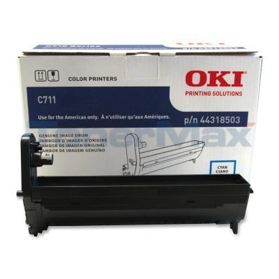 OKI C711 IMAGE DRUM CYAN